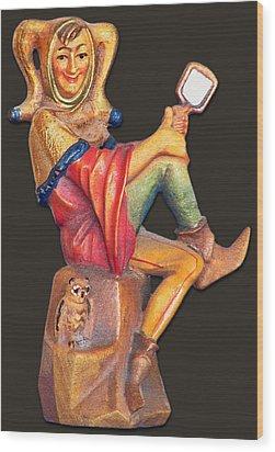 Till Eulenspiegel - The Merry Prankster Wood Print by Christine Till