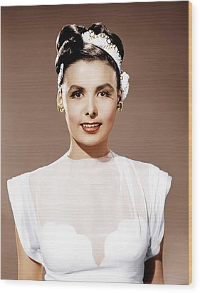 Till The Clouds Roll By, Lena Horne Wood Print by Everett