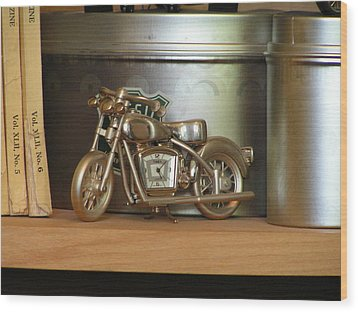 Wood Print featuring the photograph Time And Cycles by Rand Swift
