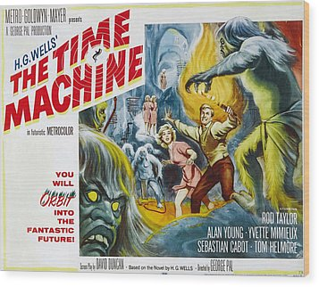 Time Machine, The, Yvette Mimieux, Rod Wood Print by Everett