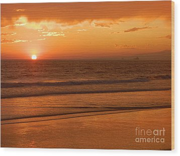 Wood Print featuring the photograph Time To Say Goodbye by Everette McMahan jr