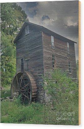 Times Forgotten Wood Print