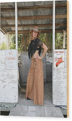 Tina Loy 603 Wood Print