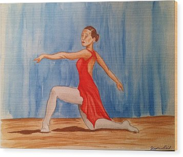 Tiny Dancer Wood Print