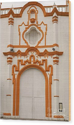 Tlacotalpan Church Veracruz Mexico Wood Print by John  Mitchell
