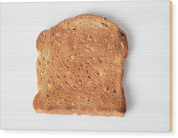 Toast Wood Print by Photo Researchers, Inc.