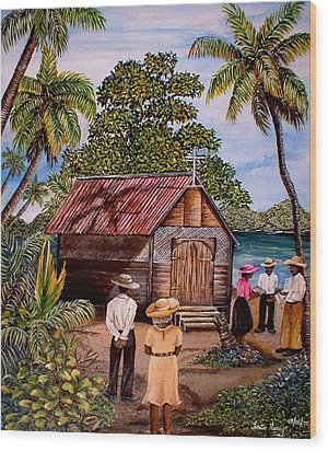 Toco Church Wood Print by Trister Hosang