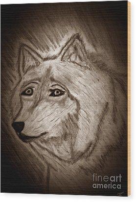 Togetherness Wood Print by Ayasha Loya