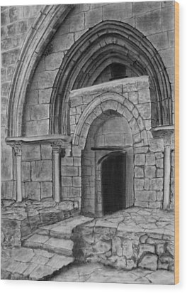 Tomb Of Virgin Mary Wood Print by Marwan Hasna - Art Beat