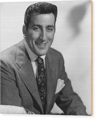 Tony Bennett, C. 1952 Wood Print by Everett