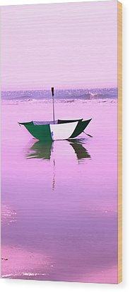 Topsail Drifting Wood Print by Betsy Knapp