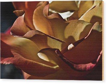 Torrid Wood Print by Monroe Snook