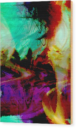 Touch Of The Sun Wood Print by Linda Sannuti