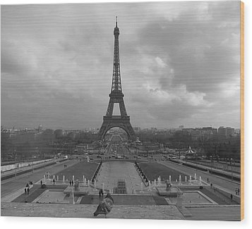Tour Eiffel Wood Print