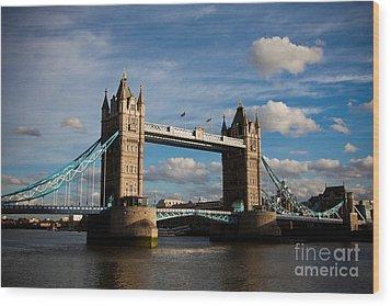 Tower Bridge Wood Print by Steven Gray