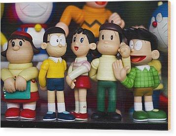 Toys Wood Print by Kemal Nurgeldiyev