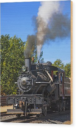 Train Number One Wood Print by Garry Gay