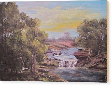 Tranquil Place Wood Print by Michael Mrozik