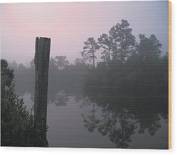 Wood Print featuring the photograph Tranquility by Brian Wright