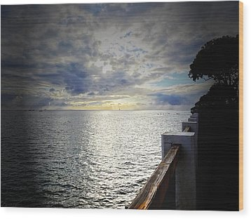 Wood Print featuring the photograph Tranquility by MaryJane Armstrong