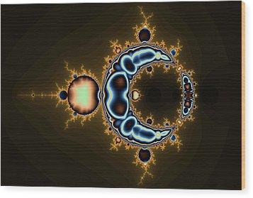 Transformed No. 6 Wood Print by Mark Eggleston