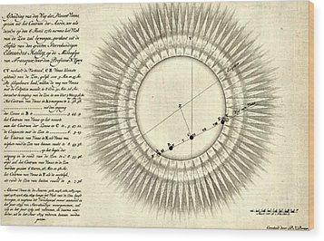 Transit Of Venus, 1761 Wood Print by Science Source