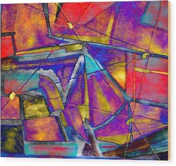 Trapezoid Wood Print