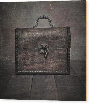 Treasure Wood Print by Joana Kruse