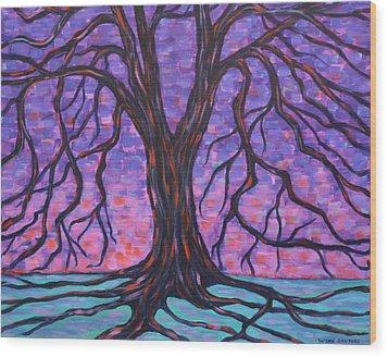 Tree #3 Wood Print