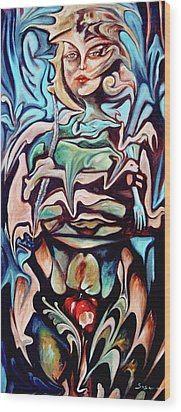 Tree Of Knowledge Of Good And Evil Wood Print by William Sosa