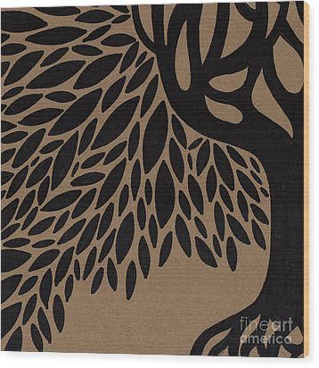 Tree Of Life Wood Print by HD Connelly