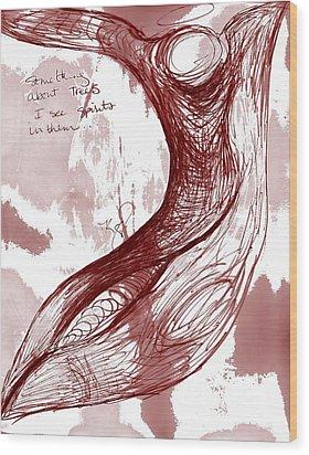 Tree Spirit 1 Wood Print