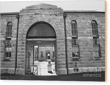 Trial Bay Jail Wood Print by Kaye Menner