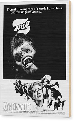 Trog, Joe Cornelius, Joan Crawford, 1970 Wood Print by Everett