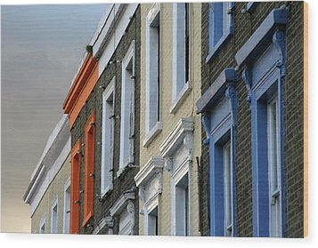 Trois Couleurs Camden Wood Print by Michael Reeve