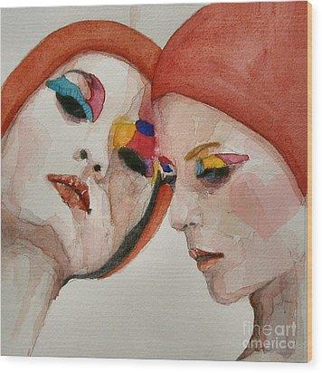 True Colors Wood Print by Paul Lovering