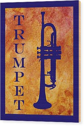 Trumpet Wood Print by Jenny Armitage