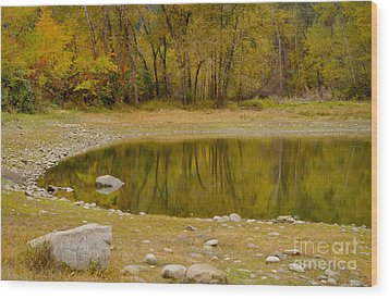 Tunnel Pond Wood Print by Idaho Scenic Images Linda Lantzy