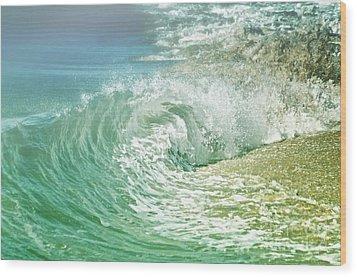 Turbulent Wood Print