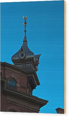 Wood Print featuring the photograph Turret At Tampa Bay Hotel by Ed Gleichman