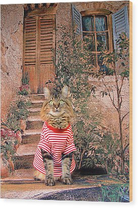 Wood Print featuring the photograph Tuscany by Joann Biondi