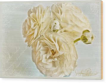 Tutus And Petticoats Wood Print by Sandra Rossouw