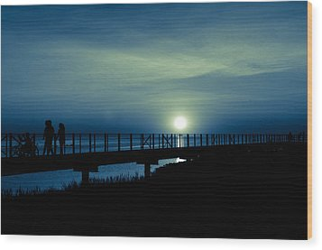 Wood Print featuring the photograph Twilight  by Jason Naudi Photography