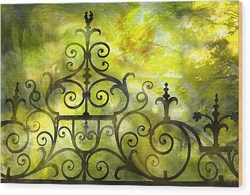 Twirling - Swirling  Wood Print