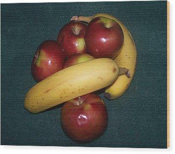 Two Favorite Fruits Wood Print