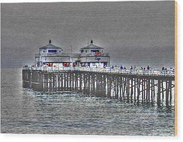 Two Towers Malibu Wood Print