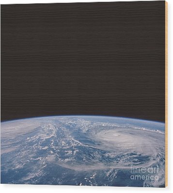 Typhoons Odessa And Pat, Seen Wood Print by NASA / Science Source