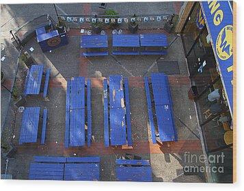 Uc Berkeley . Bears Lair Pub . 7d10010 Wood Print by Wingsdomain Art and Photography
