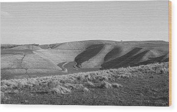 Uffington White Horse Wood Print