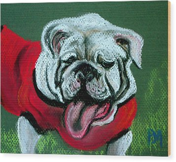 UGA Wood Print by Pete Maier